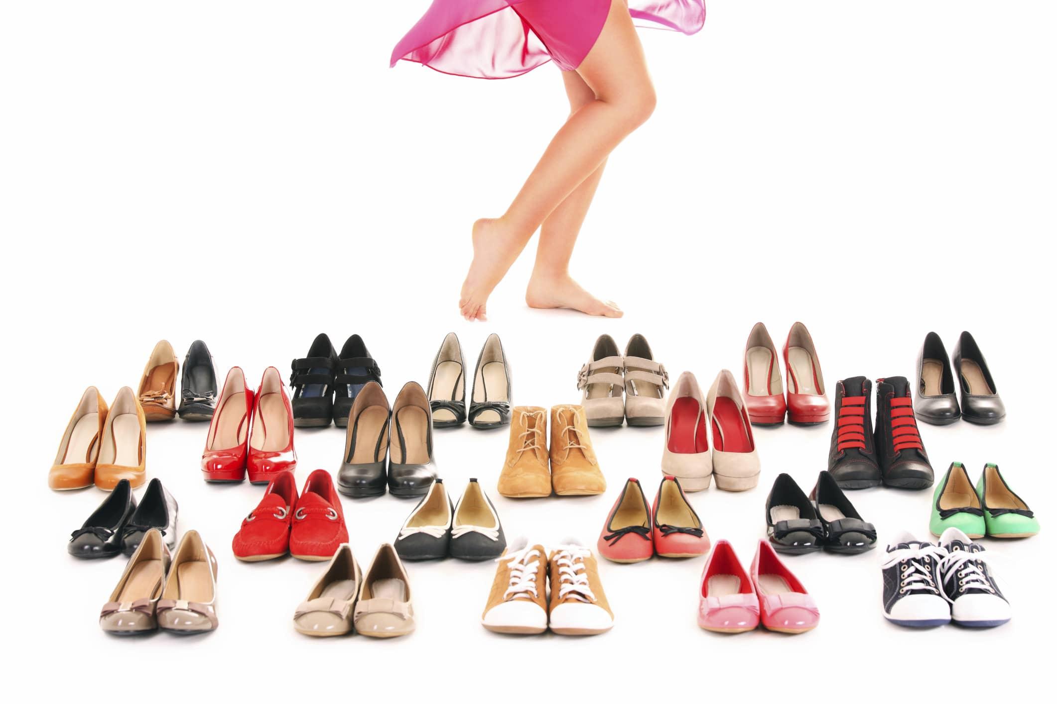 Сколько обуви нужно женщине, для полного счастья? Считаем вместе.